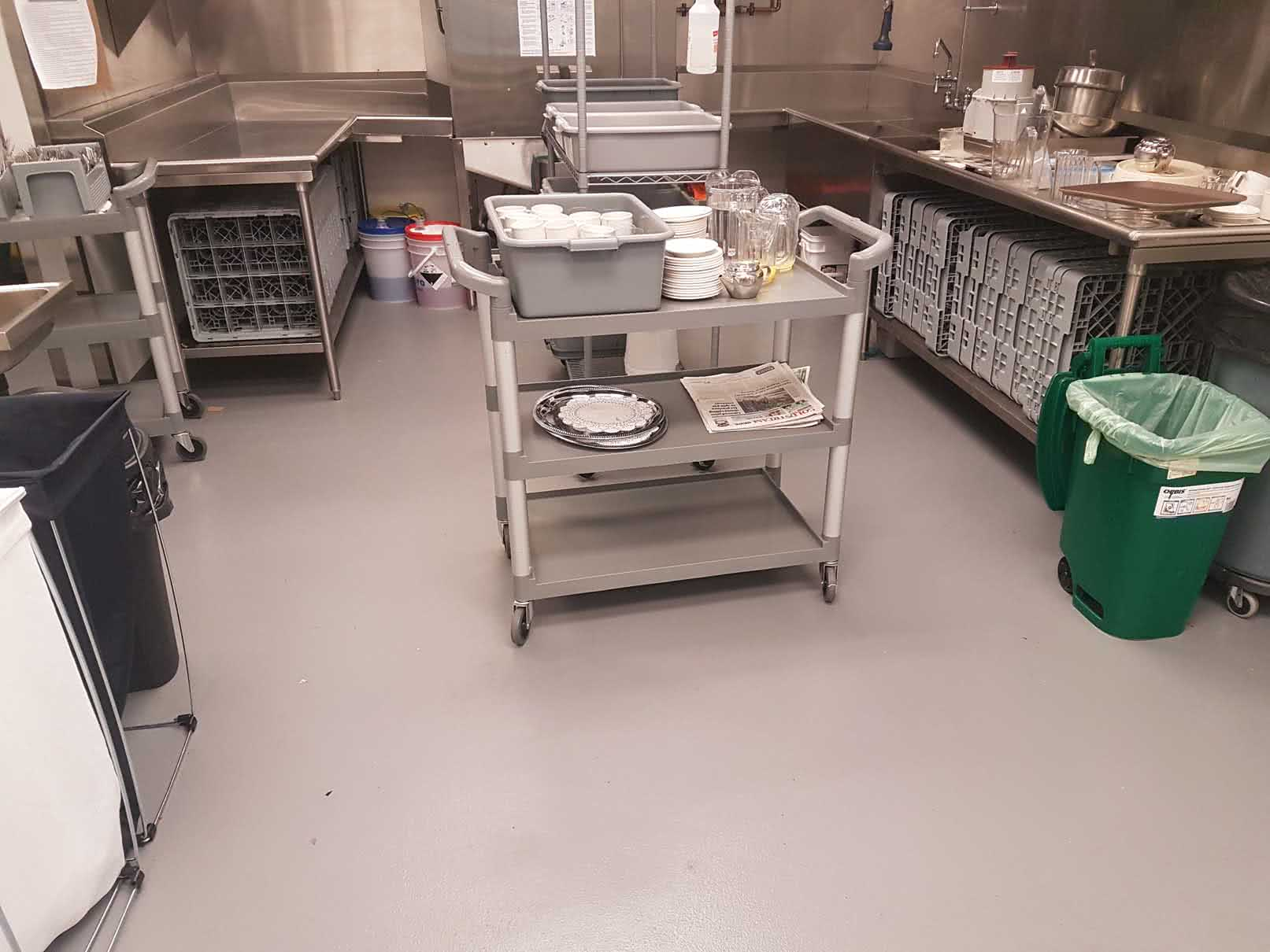 Epoxy Floor Resurfacing & Coating at Cherish Assisted Living
