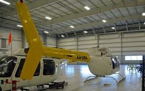 Urethane floor coating for plane hangers