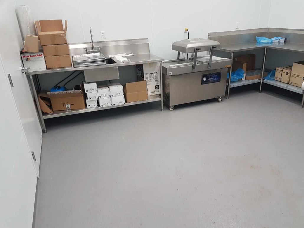 Epoxy flooring & resurfacing at Cowichan Bay Seafood