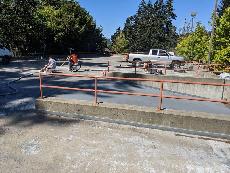 Parkade membrane restoration